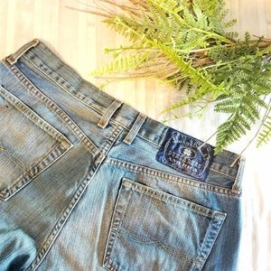 Lucky Brand Dungarees Boot Cut Zip Fly Jeans
